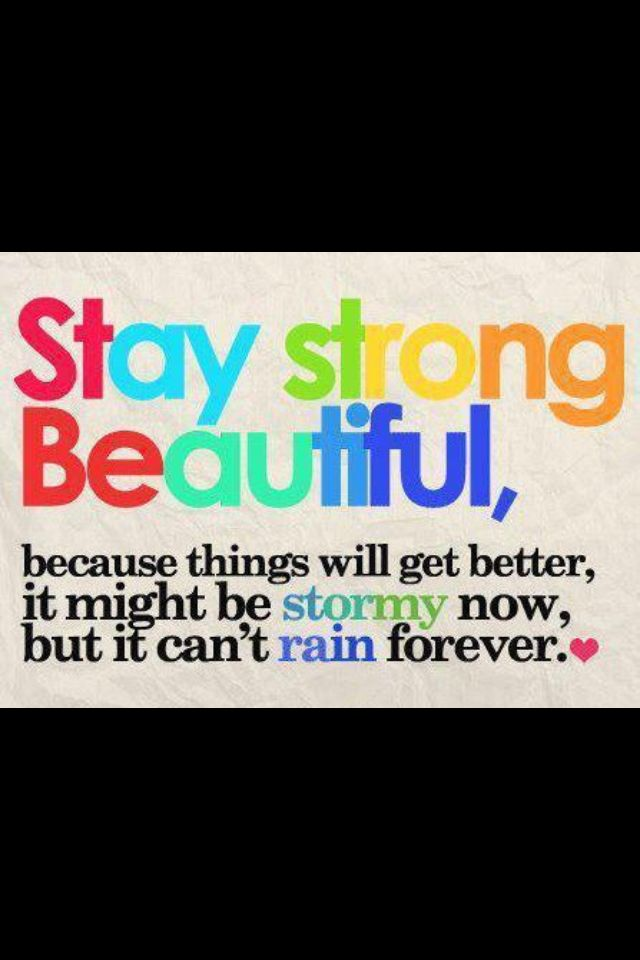 Stay Strong Bullying Quotes Stay Strong Beautiful Stay Strong Quotes