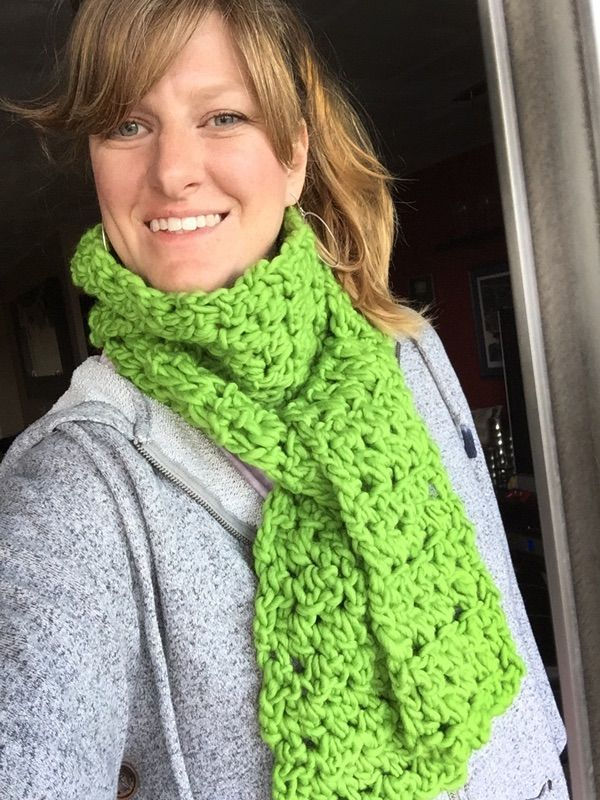 Smooshy Scarf {free crochet pattern} | Crochet | Pinterest