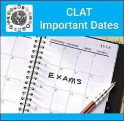 Clat Important Dates 2020 Important Dates Exam Dating