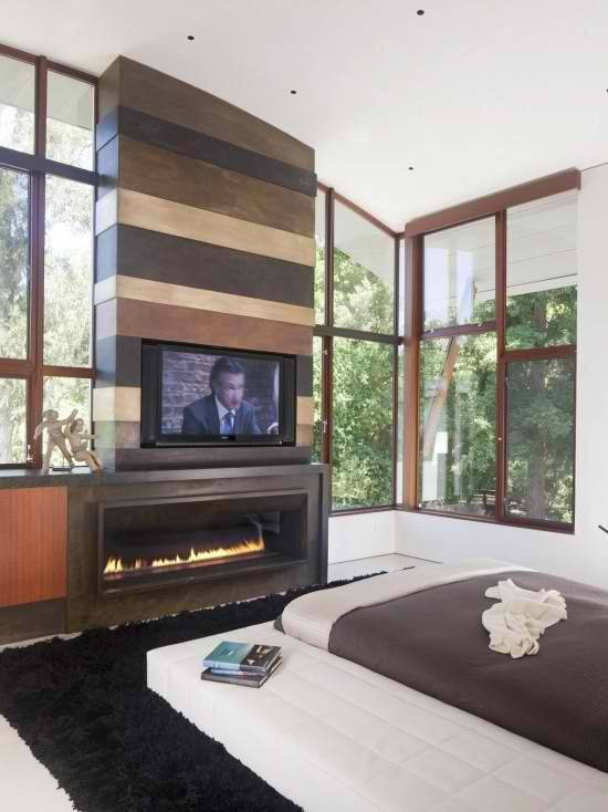 20 Amazing Tv Above Fireplace Design Ideas  Tvs Fireplace Design Classy Bedroom Fireplace Design Ideas Decorating Design