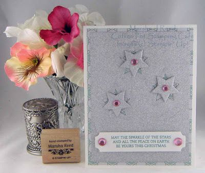 Coffee Pot Stamping Cafe: Sunday Christmas Card Challenges #35