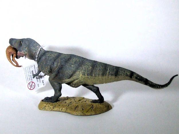 Tyrannosaurus Rex with Prey Dinosaur Toy CollectA Pet