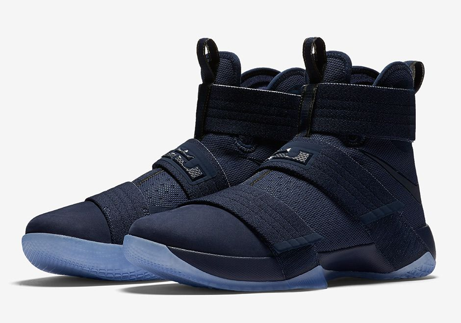 check out 9970e 851de Look Out For The Nike LeBron Zoom Soldier 10 Midnight Navy