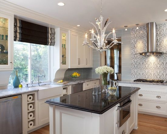This stunning kitchen, designed by Rebecca Robeson of Robeson Design ...