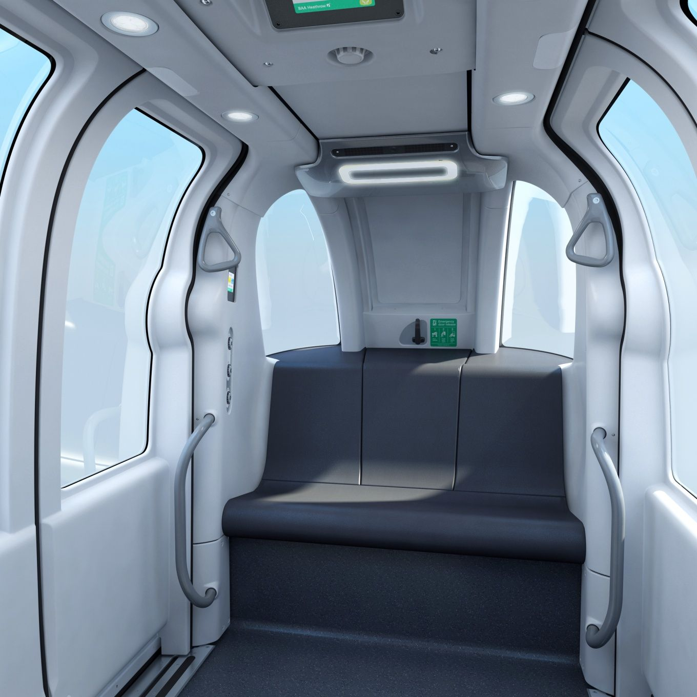 Ultra Global PRT vehicle development & design - interior #podulator ...