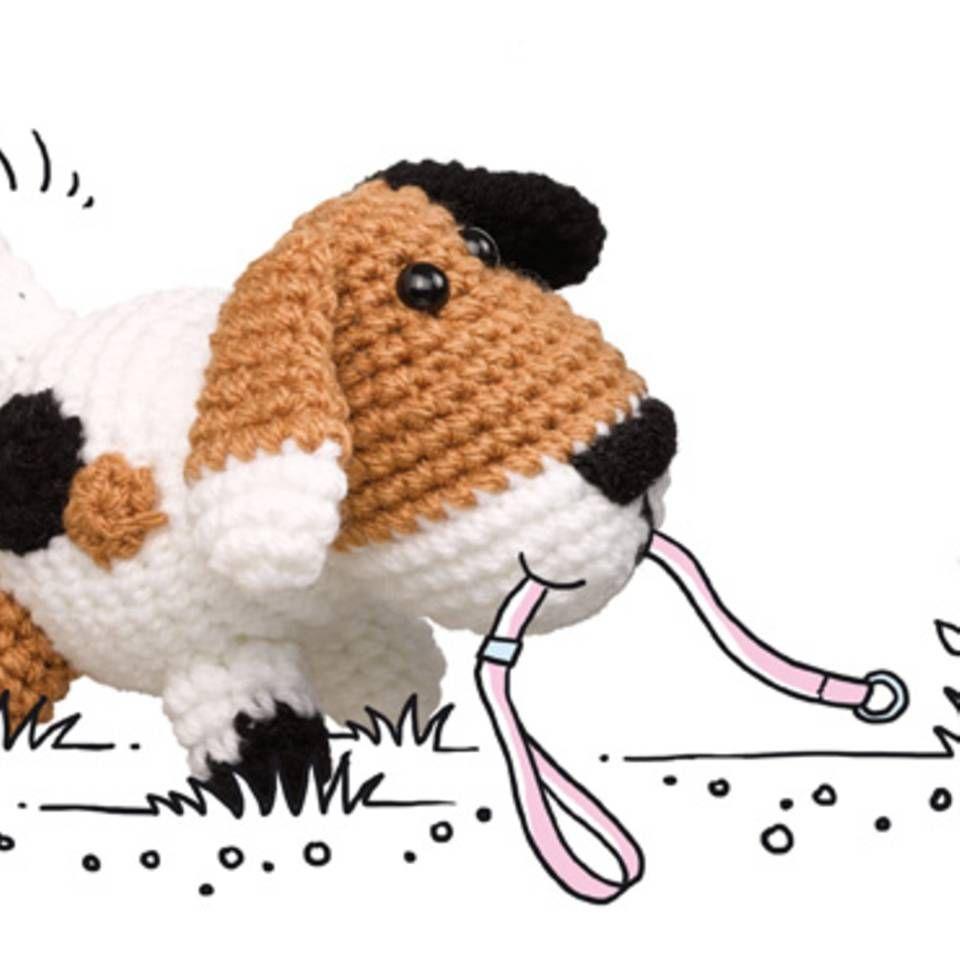 Häkelmuster: Hund häkeln - so geht\'s!   Amigurumi and Crochet