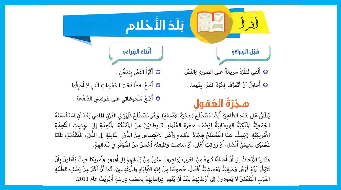 بوربوينت هجرة العقول لغير الناطقين بها للصف الحادي عشر مادة اللغة العربية Boarding Pass Airline