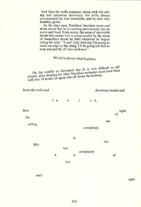House of leaves layout
