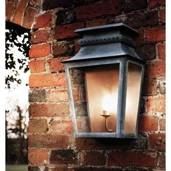 Classical Zeus Zinc Outdoor Wall Lantern Outdoor Wall