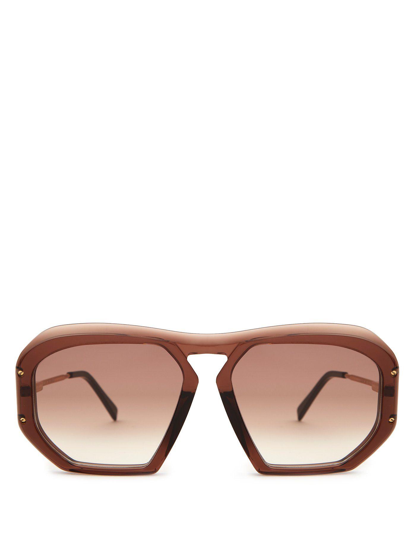 CÉLINE EYEWEARSquare-frame acetate sunglasses的圖片搜尋結果