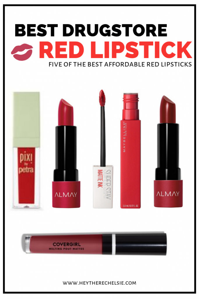 5 Best Red Lipsticks at the Drugstore 5 Best Red Lipsticks at the Drugstore