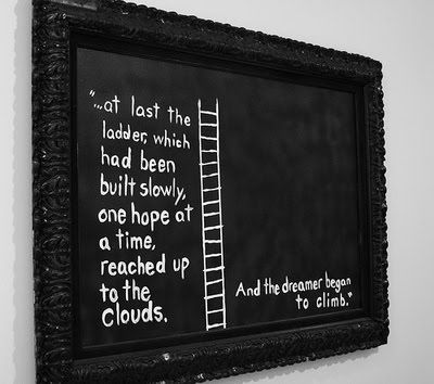 Keep on climbing, you'll get there eventually.