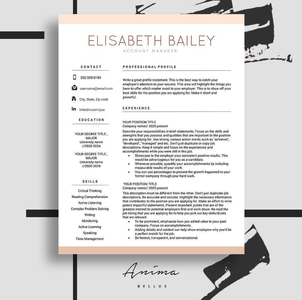 Resume Cv maker Resume template Resume Design Cv template