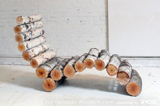 Ambitious & Awesome: 6 Fun DIY Projects for Outdoor Spaces - yo le agrego un buen almohadón!!
