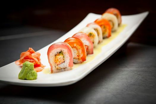 Artistry and mastery, all wrapped up in one delicious bite: the Jen roll.