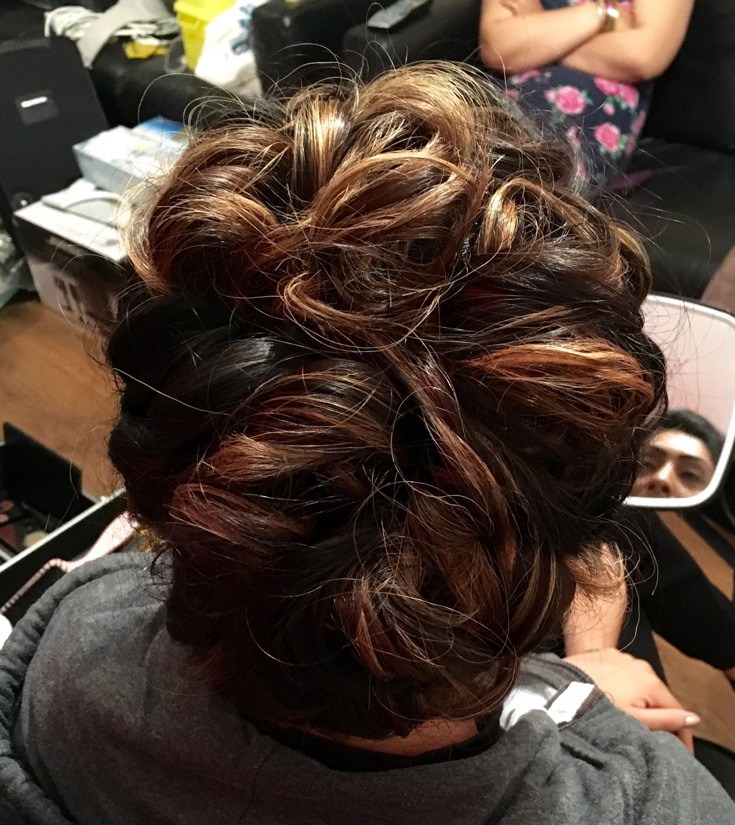 Party hair curly updo by MDG Hair and Beauty   Party ...