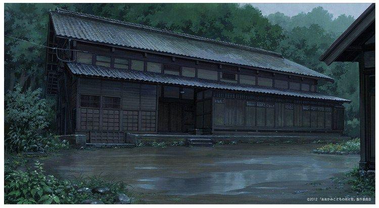 Deho Gallery Anime Background Art Studio Anime Background