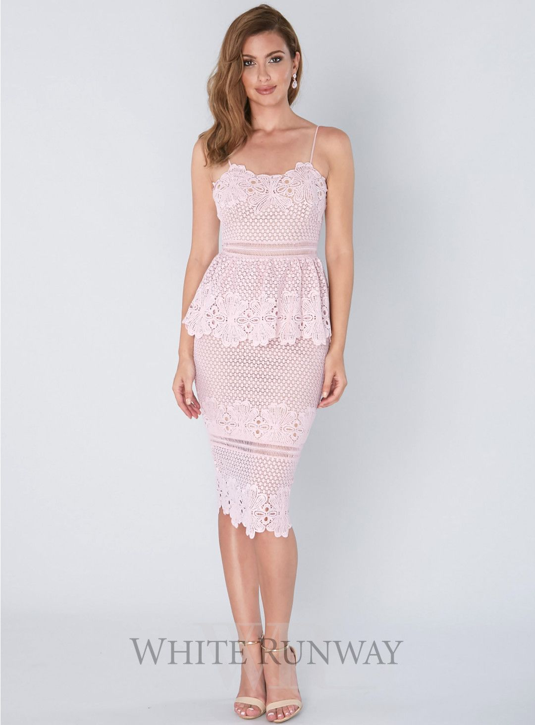 Frilling Around Fitted Midi. A stunning midi dress by Grace & Hart ...