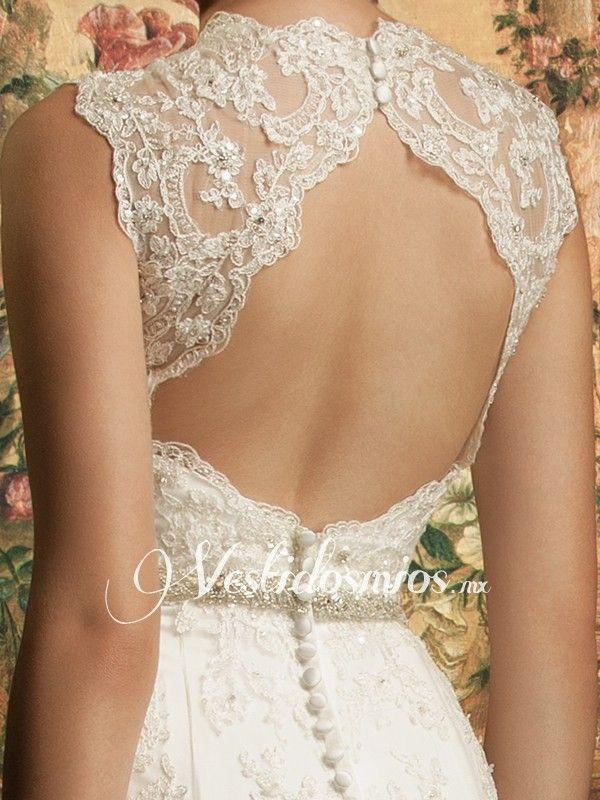 vestidos de novia sencillos con escote en la espalda - buscar con