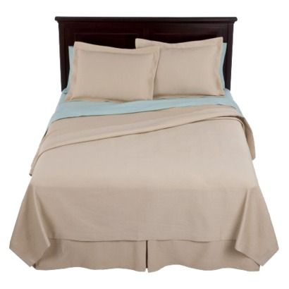 Bedrooms · Master Bedroom ~ Fieldcrest® Luxury Matelasse Coverlet