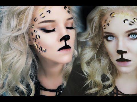 Glam leopard halloween makeup emily orlando youtube glam leopard halloween makeup emily orlando youtube fandeluxe Choice Image