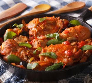 Photo of Pollo Alla Cacciatora: Hunter Style Chicken Recipe – Cooking.com