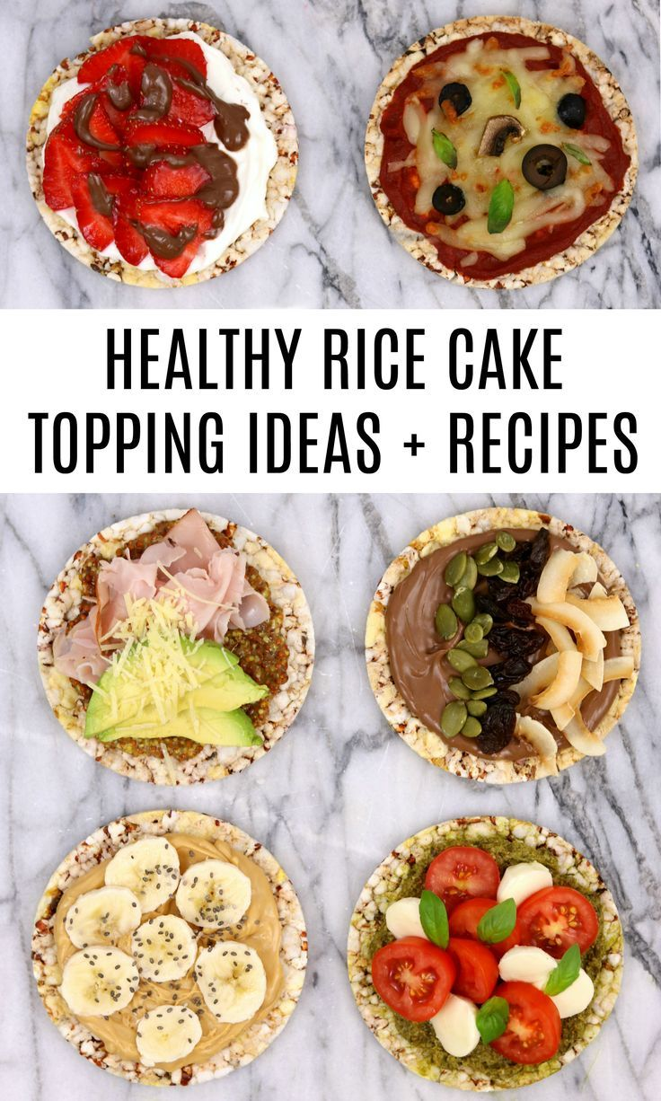 Healthy Rice Cake Topping Ideas and Recipes -