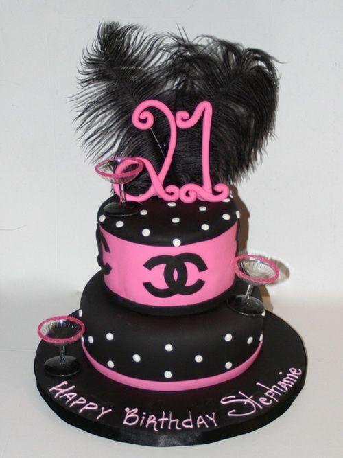Popular Girls 21st Birthday Cake Cakes For