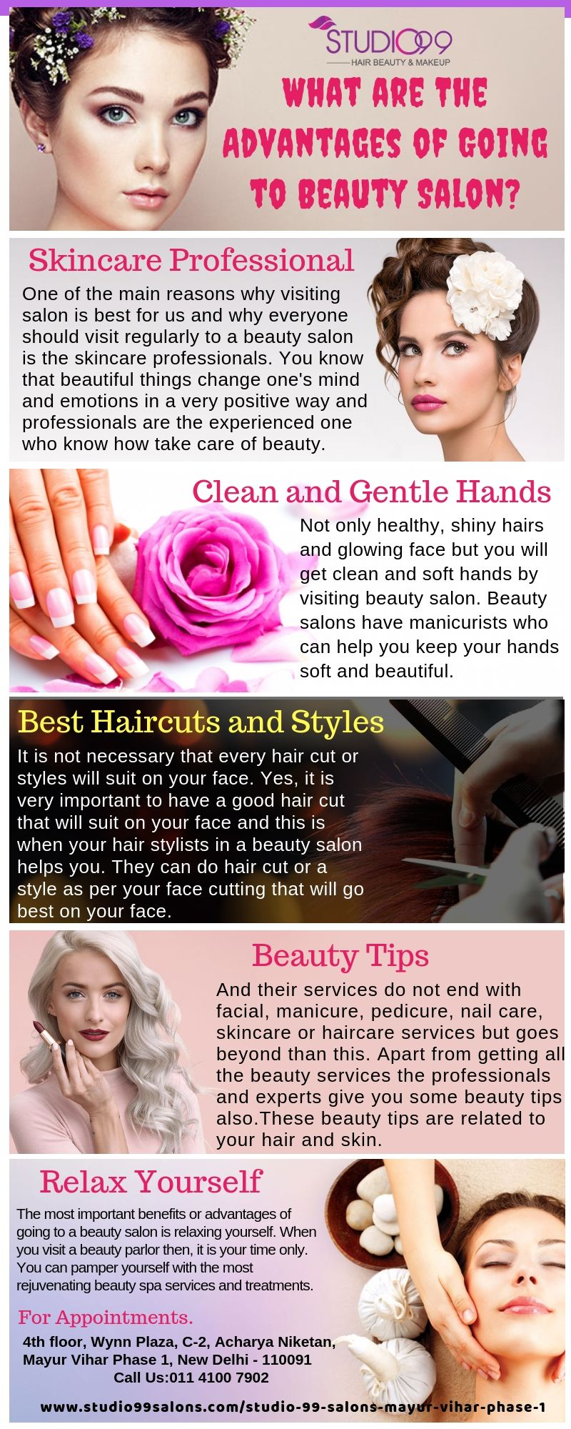What Are The Advantages Of Going To Beauty Salon Skin Care Salon Beauty Salon Salons