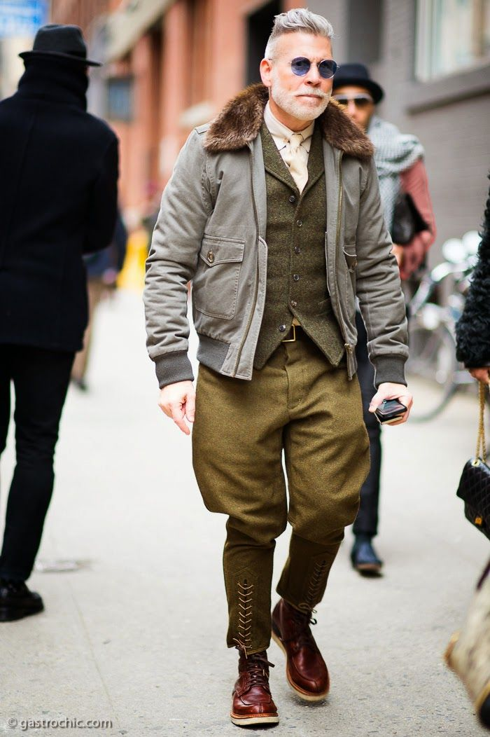 Nick Wooster Style Icon Suit Men With Style Icon