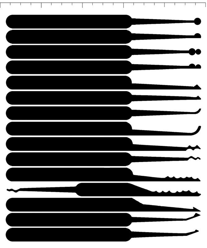 Dashing image pertaining to lockpick templates printable