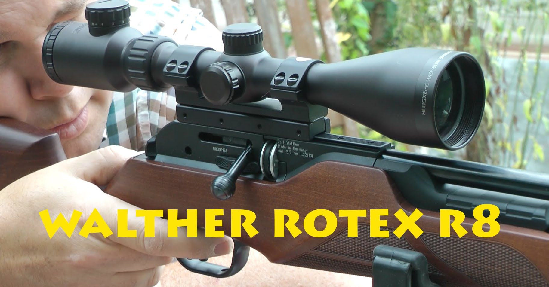 REVIEW Walther Rotex R8 Compact Pest Hunting Airgun
