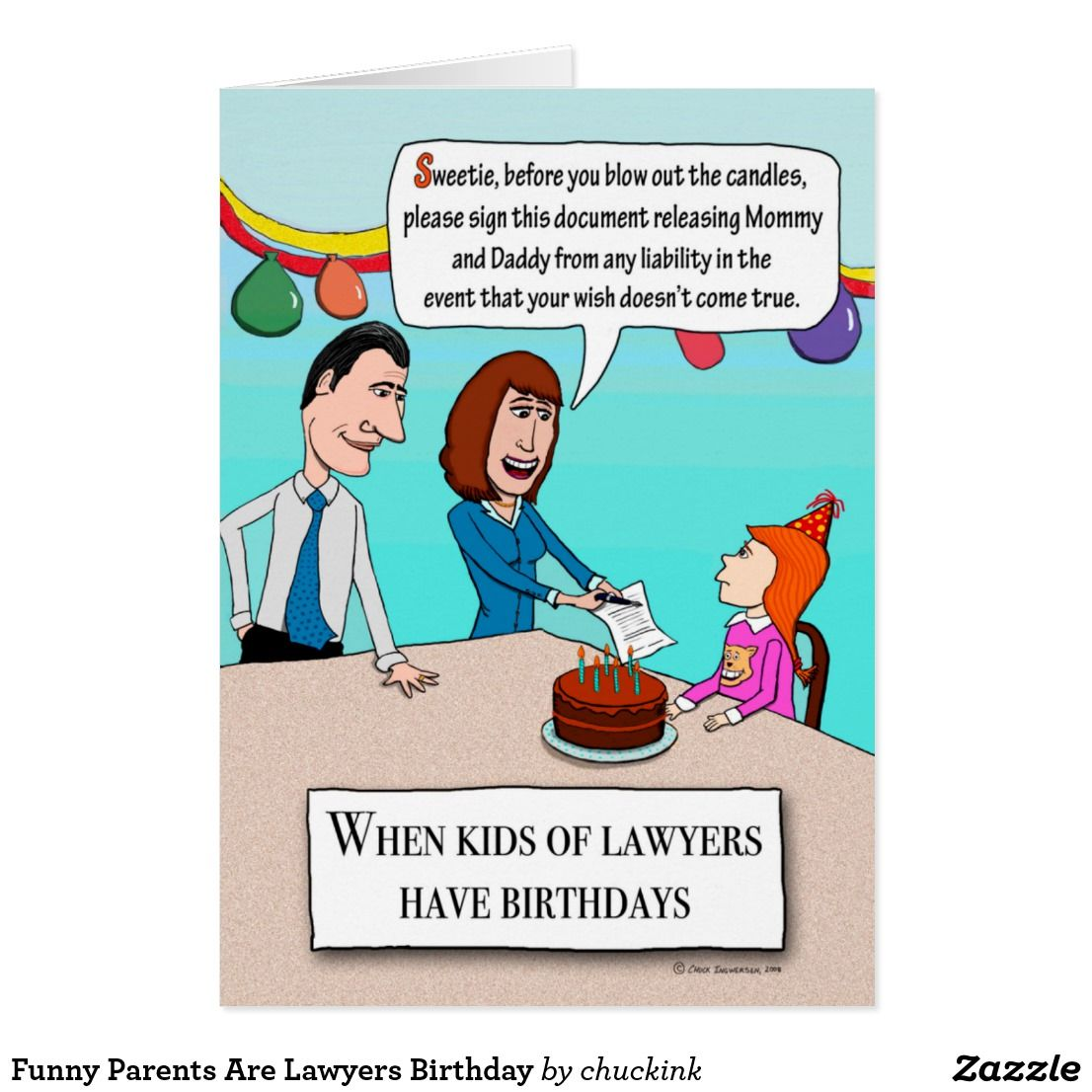 Funny parents are lawyers birthday card funny greeting cards funny parents are lawyers birthday card happy birthday greetingsbirthday kristyandbryce Image collections