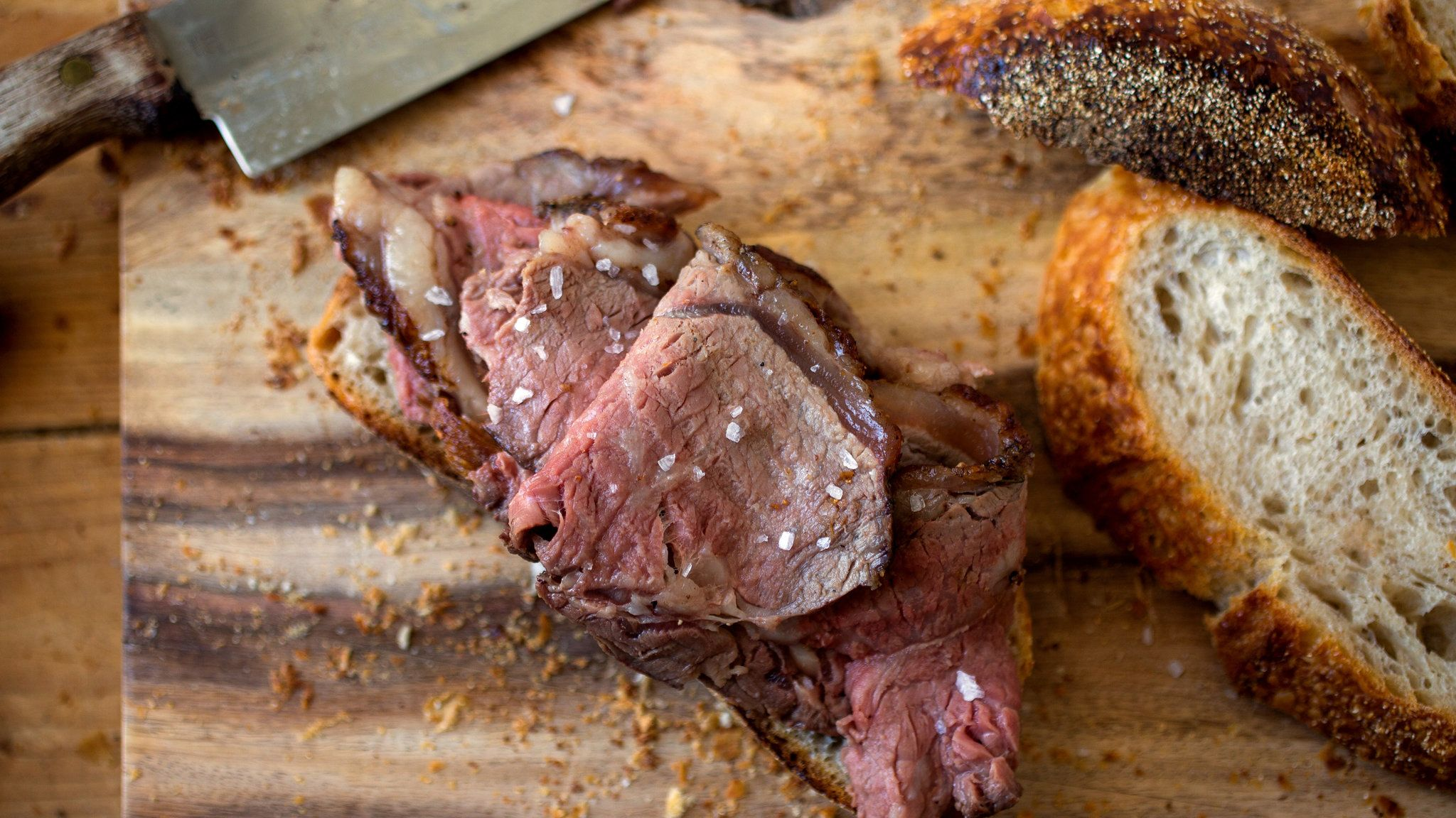 Shaved Roast Beef Gold In Colour