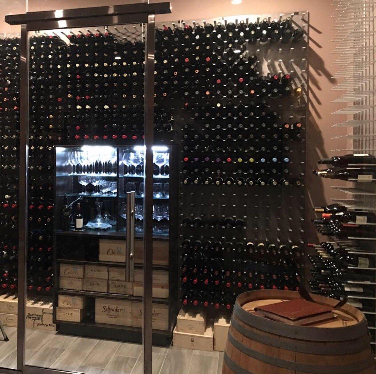 Glass Wine Room Las Vegas Wine Cellars Wine Cellar Glass Wine