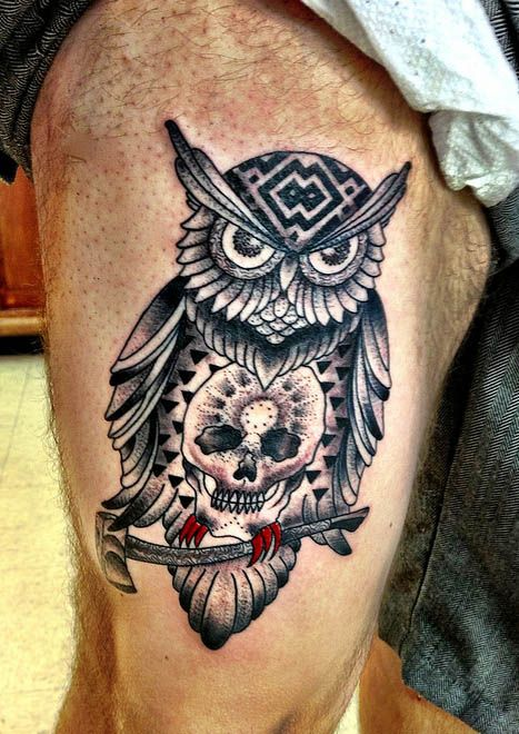 Best Owl Tattoos in the World, Best Owl Tattoos Video , Best Owl ...