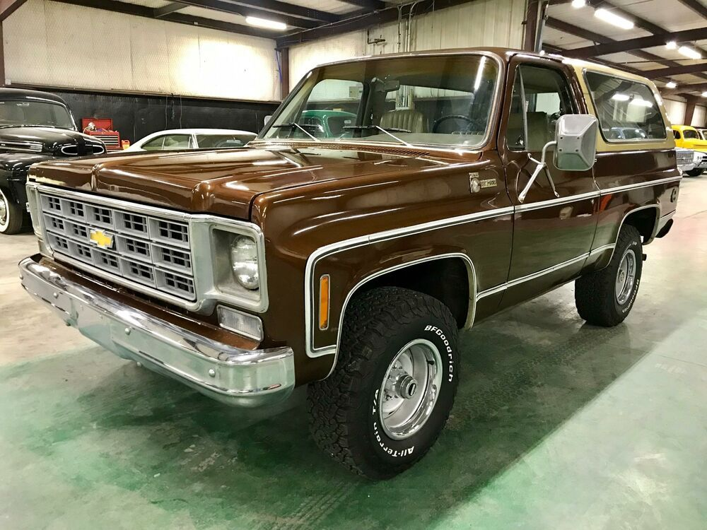 1978 Chevrolet K5 Blazer Vin Ckl188z150553 Four Wheel Drive Matching Numbers 350 V8 Automatic Power Steering Chevrolet Blazer Chevrolet Four Wheel Drive