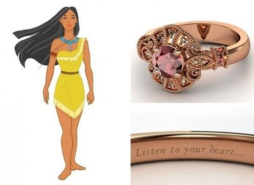 OMG I Love This Pocahontas Engagement Ring