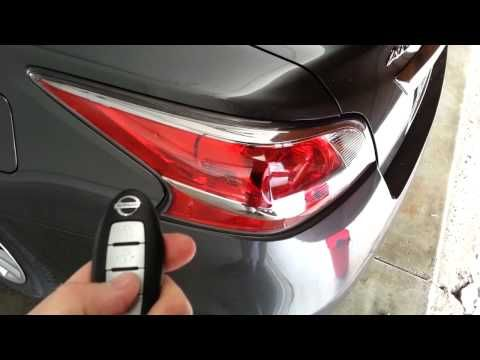 Nissan Rogue Key Fob Battery Change