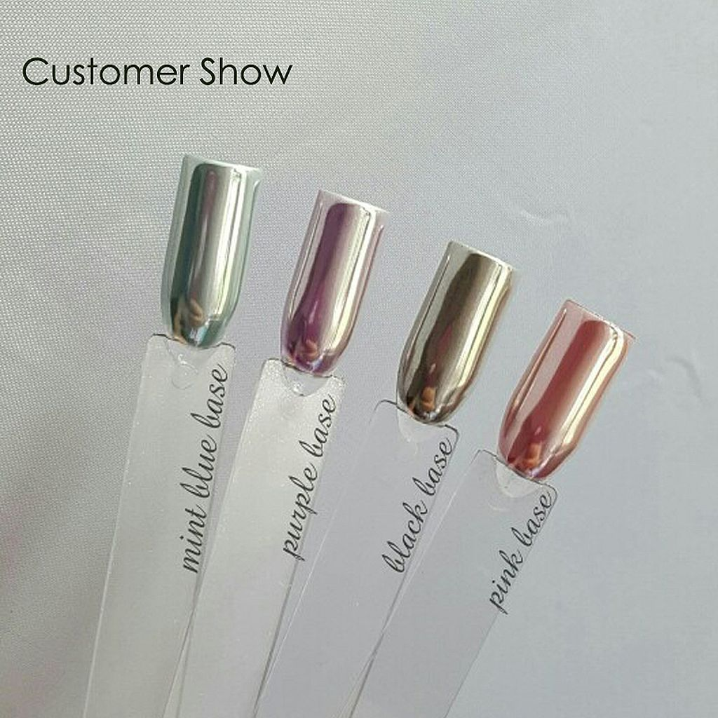 nice 90+ Glamour Chrome Nails Trends 2017 | Nails | Pinterest