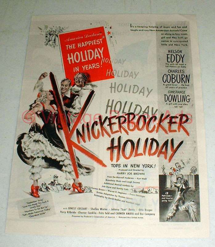 Download Knickerbocker Holiday Full-Movie Free