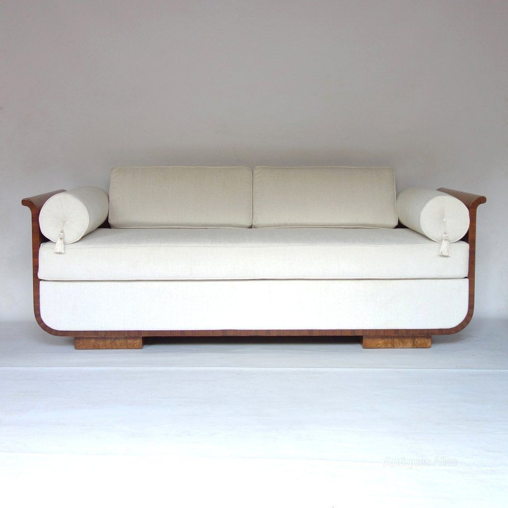 art deco daybed sofa czech jindrich halabala 1930s antiques atlas - Daybed Sofa