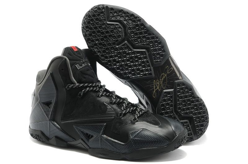 all black lebrons