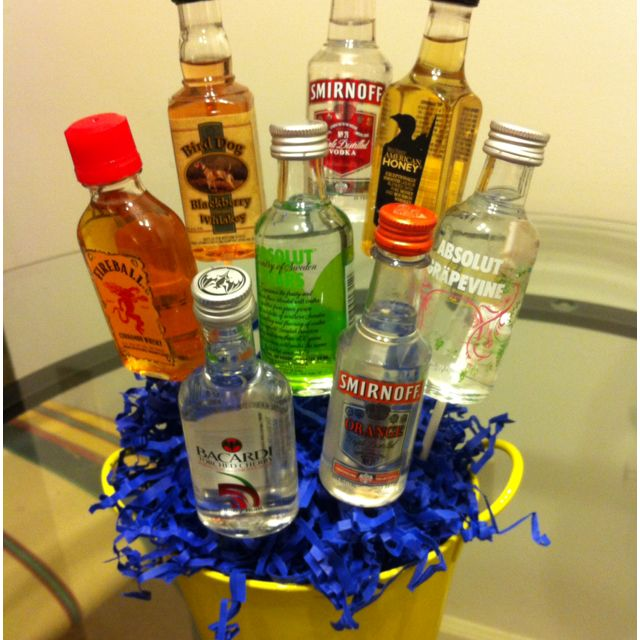 This Is A Creative Gift Idea For Some Turning 21 Drinks Birthday