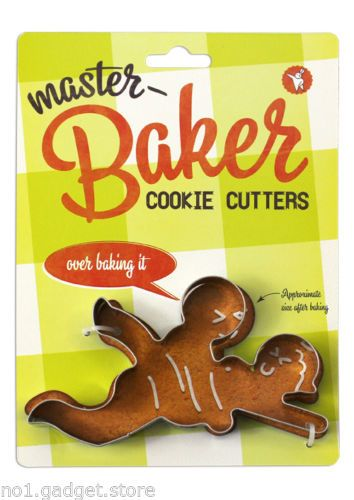 Details About Masterbaker Naughty Cookie Cutters 5 Designs