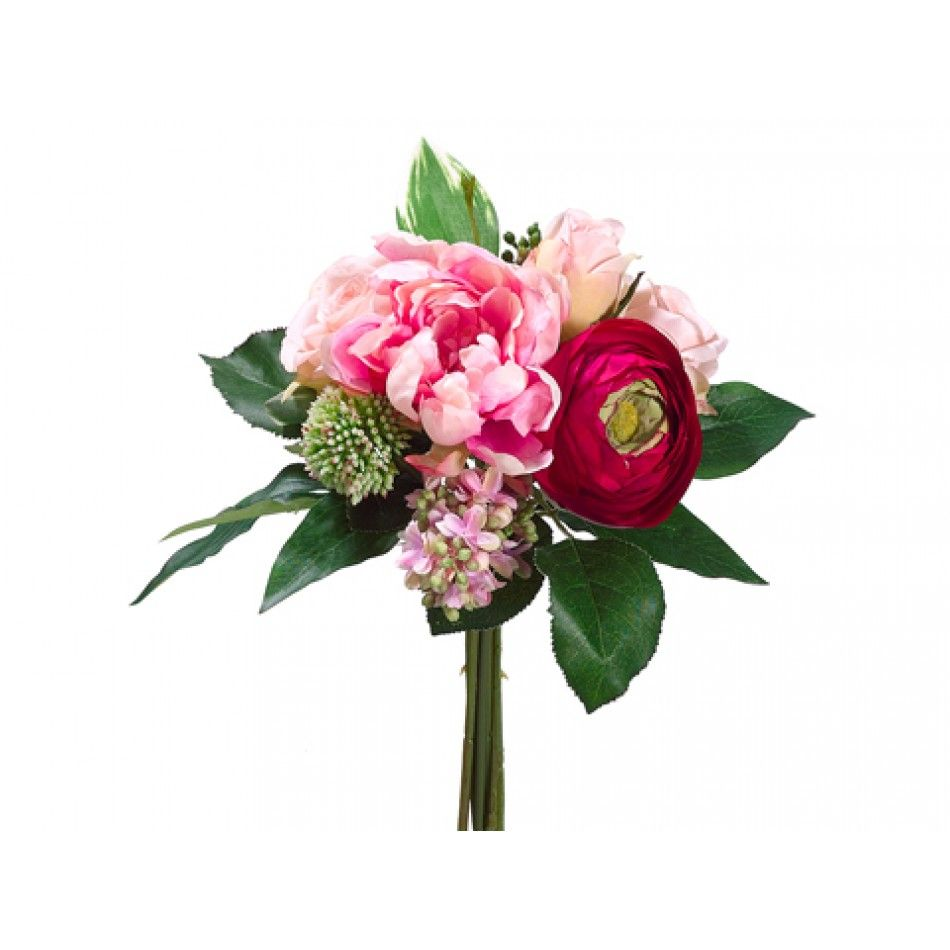 Comes In Blush11 Peonyroselilac Bouquet 3 Colors Available