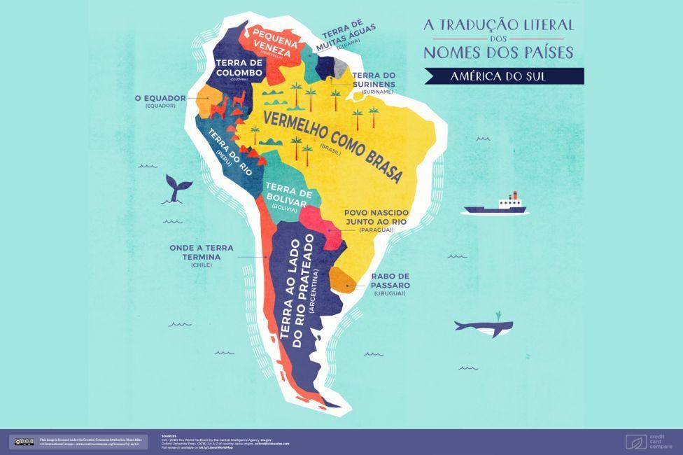 44c8d0cac407e Brasil vem de  vermelho como brasa   Mapa global identifica origens ...