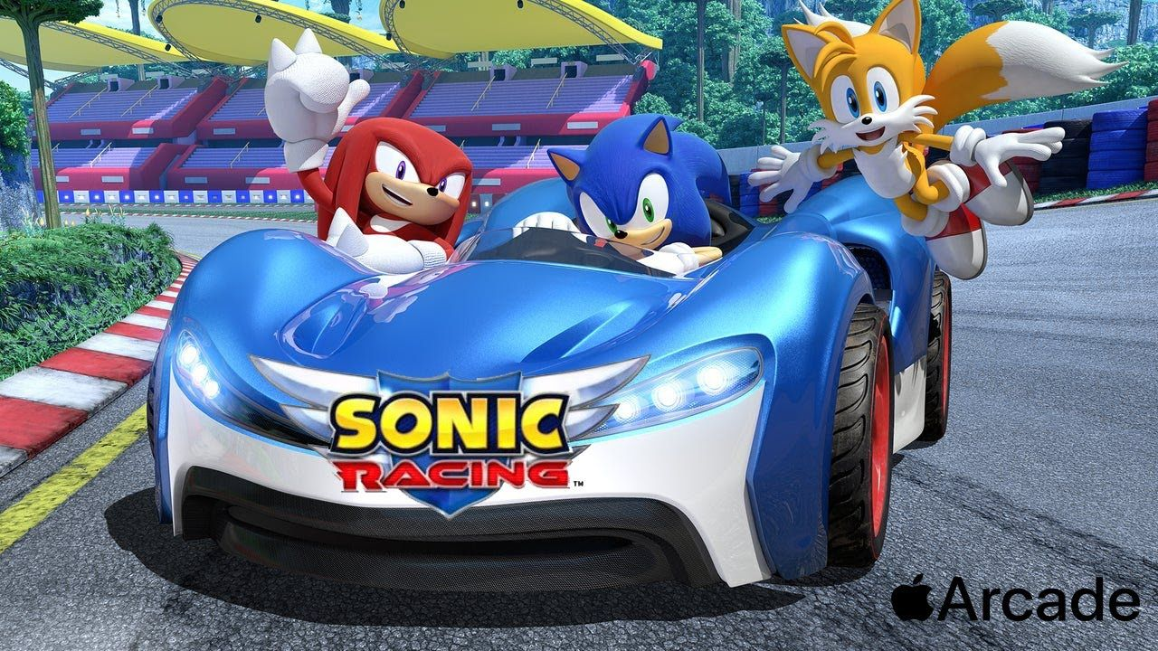 Sonic Racing Gameplay Walkthrough Video Apple Arcade Sonic Racing Playable Character