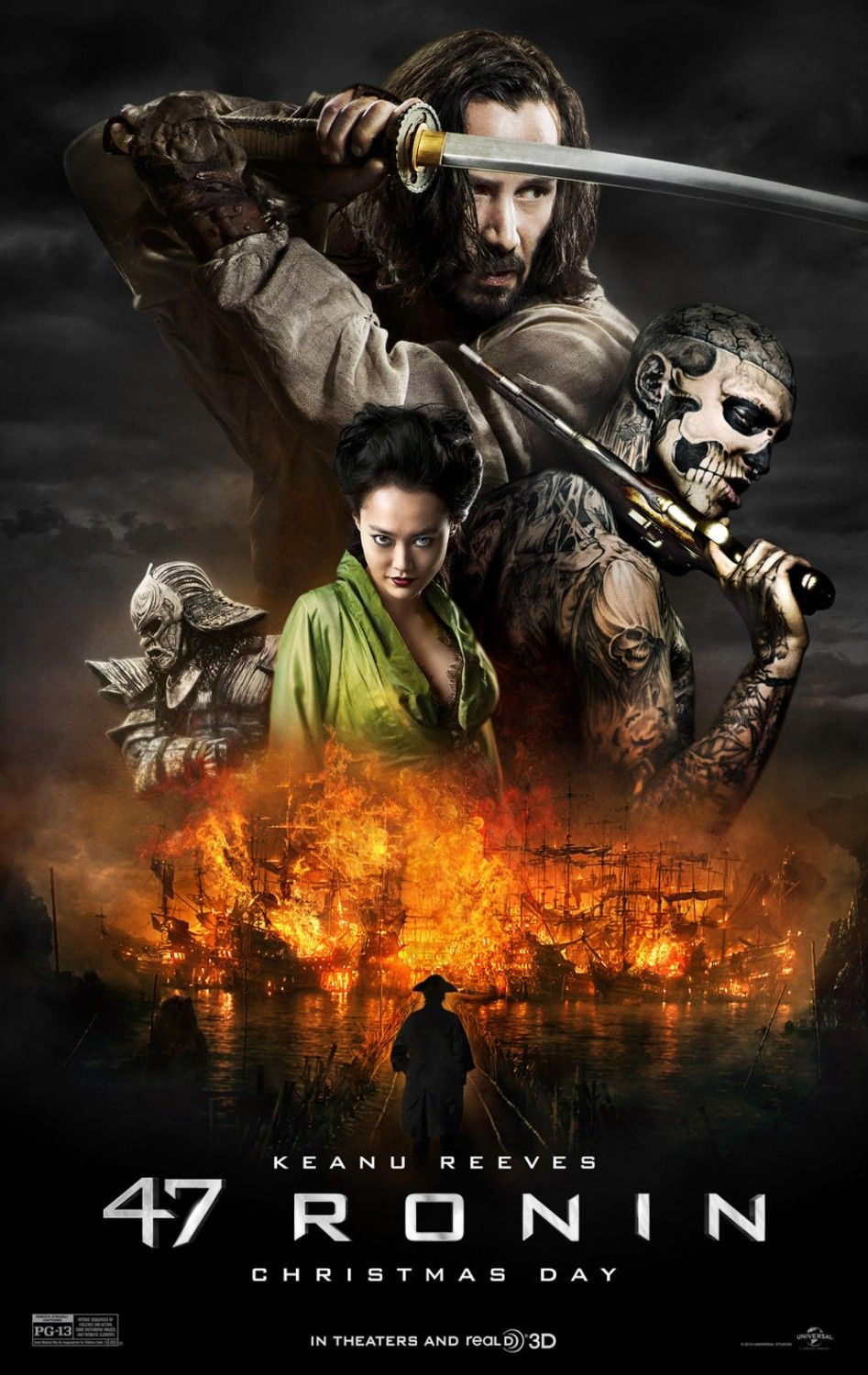 Extra Large Movie Poster Image For 47 Ronin Posteres De Filmes