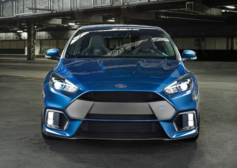 2016 Ford Focus Rs Front View Autonewcars Com New Ford Focus